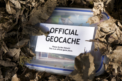 An example of a geocache