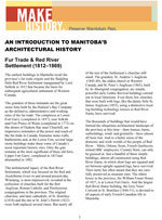 Link to download An Introduction to Manitoba's Architectural History