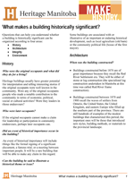 Link to download What makes a building historically significant