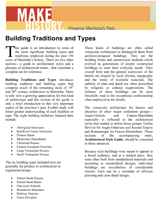 Link to download Building Traditions and Types