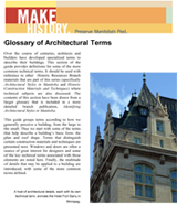 Link to download Glossary of Architectural Terms