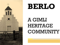 Link to download Berlo - A Gimli Heritage Community