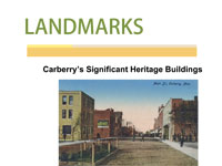 Link to download Carberry Landmarks