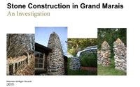 Link to download Stone Construction in Grand Marais