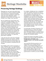 Link to download Preserving Heritage Buildings